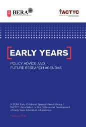 Early Years Policy - BERA-TACTYC
