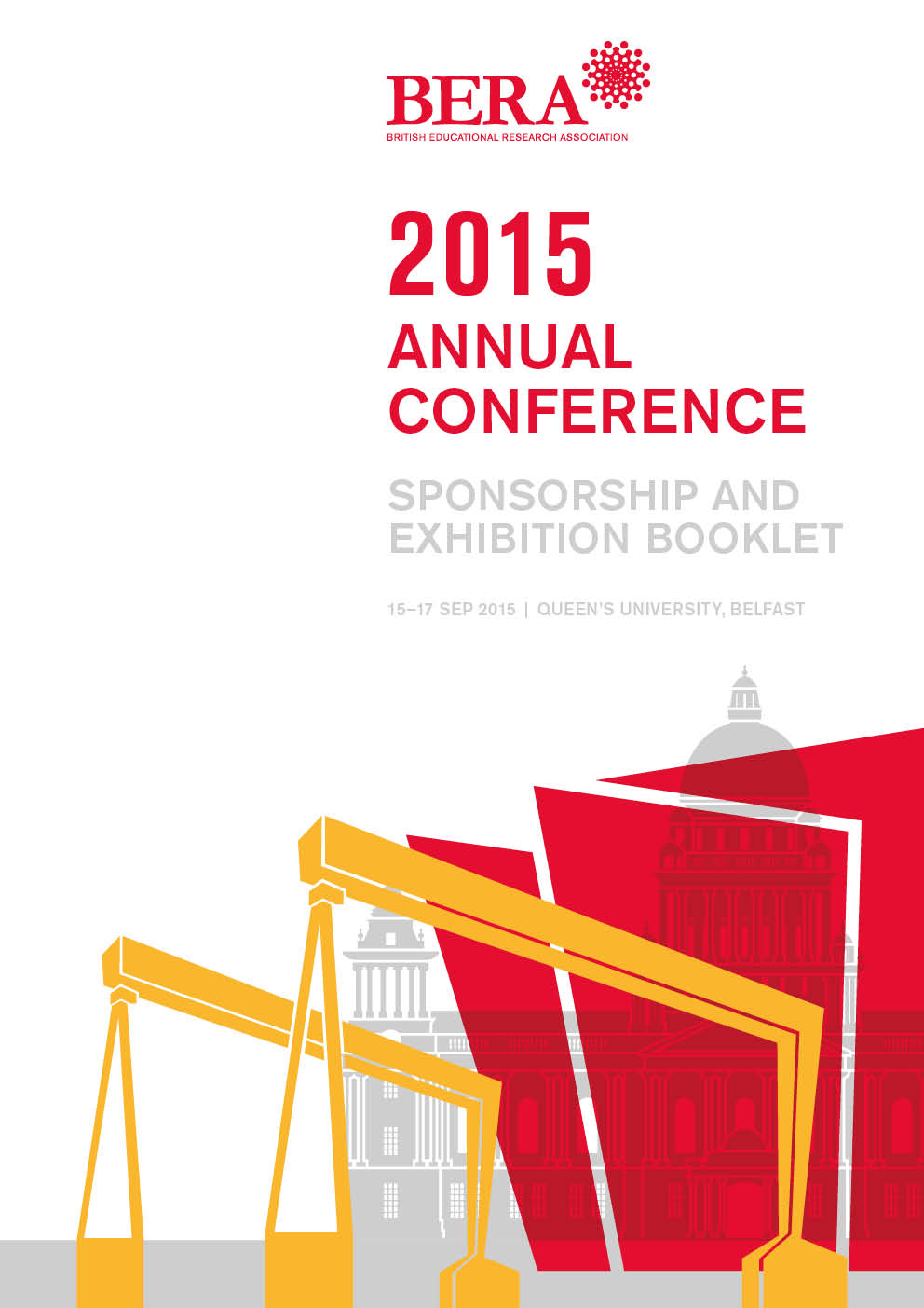 Image of front cover of sponsorship booklet