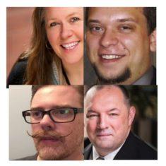 Dawne Bell, David Wooff, Matt McLain & David Morrison-Love