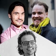 Lasse Lipponen, Jaakko Hilppö and Antti Rajala