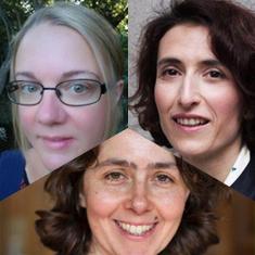 Tammy Campbell, Ludovica Gambaro, Kitty Stewart