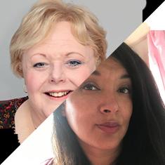 Pam Jarvis & Yinka Olusoga