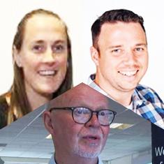 David Egan, David Aldous and Anna Bryant