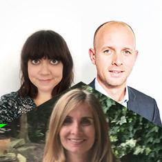 Ana De Arede, Lisa Stephenson & Tom Dobson